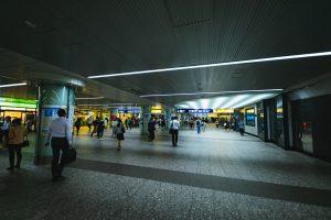 横浜駅地下