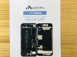 iPhone8画面ガラス修理内部