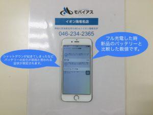 iPhoneバッテリー