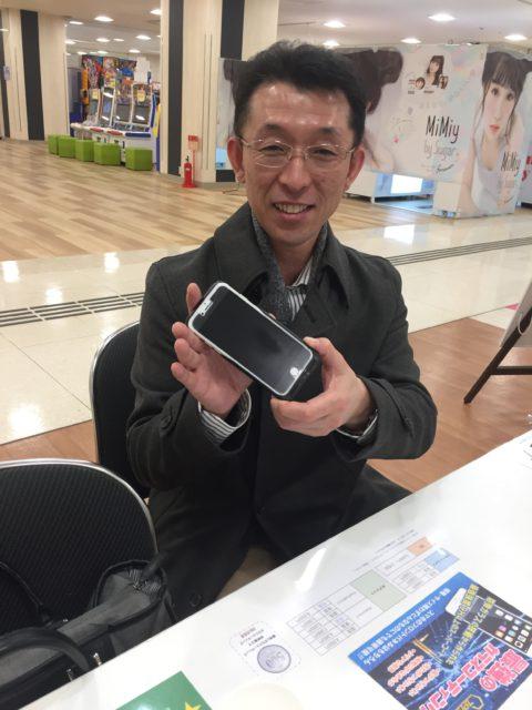 iphone修理・バッテリー膨張・バッテリー交換・イオン橋本