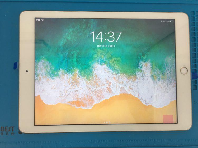 iPad5デジタイザー交換