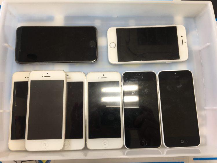 各種iPhoneバッテリー交換