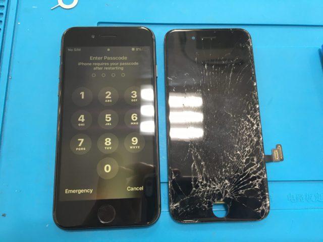 iPhone7 パネル交換